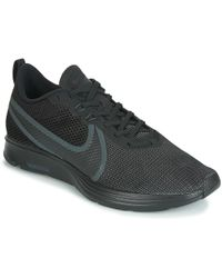 118ce598192f86 Nike Zoom Strike Men s Shoes (trainers) In Black in Black for Men - Lyst
