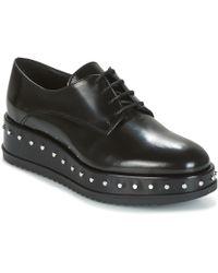 Tosca Blu - Civetta Abrasivato Women's Casual Shoes In Black - Lyst