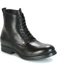 DIESEL   D-vicious Dbb Men's Mid Boots In Black   Lyst