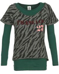 Franklin & Marshall | Oakelo Women's Sweatshirt In Green | Lyst
