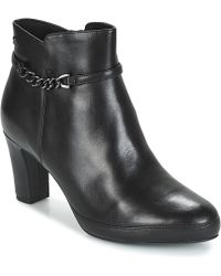 Tamaris - Maura Women's Low Ankle Boots In Black - Lyst