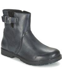 Birkenstock - Stowe Women's Mid Boots In Black - Lyst
