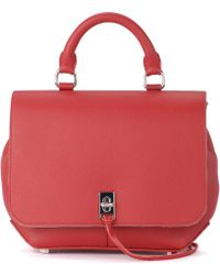 Rebecca Minkoff - Dareen Red Leather Backpack Women's Handbags In Red - Lyst