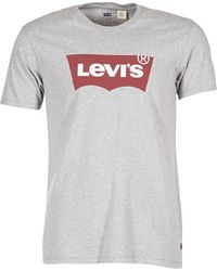Levi's - Levis Graphic Set-in Men's T Shirt In Grey - Lyst