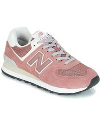 timeless design a466f 59033 New Balance Wl574swa Women's Shoes (trainers) In Pink in ...