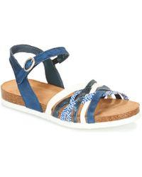 Think! - Cloe Women's Sandals In Blue - Lyst