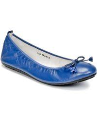 Mac Douglas   Eliane Women's Shoes (pumps / Ballerinas) In Blue   Lyst