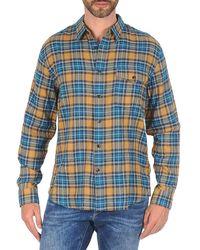 Dockers - Wrinkle Twill Men's Long Sleeved Shirt In Multicolour - Lyst