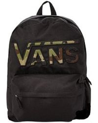 Vans | Mochila Realm Flying V Backpack Women's Backpack In Black | Lyst