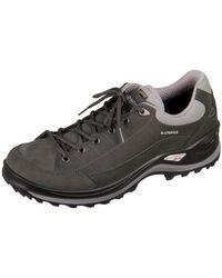 Lowa - Renegade Iii Gtx Lo Dunkelgrau Grau Men's Shoes (trainers) In Multicolour - Lyst