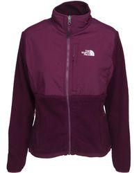 The North Face - Glacier Full Zip Women's Fleece Jacket In Purple - Lyst