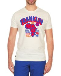 Franklin & Marshall - Africa Men's T Shirt In White - Lyst