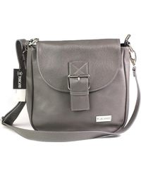 Toscanio - A63 Women's Shoulder Bag In Grey - Lyst