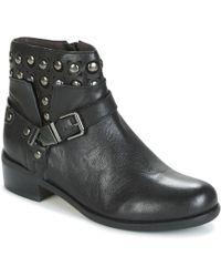 Mam'Zelle - Polka Women's Mid Boots In Black - Lyst