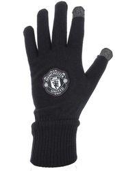 adidas - Manchester gants joueur hommes Gants en Noir - Lyst