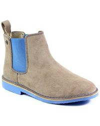 Big Star - V273008 Women's Low Ankle Boots In Grey - Lyst