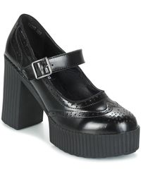 T.U.K. - Casbah Queen Women's Court Shoes In Black - Lyst