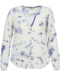 Ddp - Celi Women's Blouse In Blue - Lyst