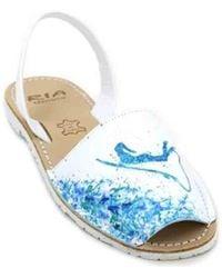 Ria Menorca - Twins 27171-s2 Women ́s Avarcas Sandals Women's Sandals In White - Lyst