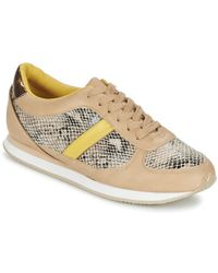 Balsamik - Andola Women's Shoes (trainers) In Beige - Lyst