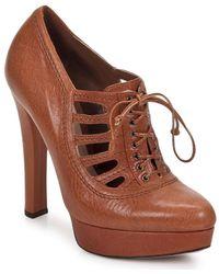 Sebastian - Aycu Women's Low Boots In Brown - Lyst