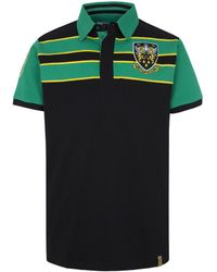 Ellis Rugby   Vintage Saints Polo Shirt Men's Polo Shirt In Black   Lyst