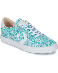 Converse | Breakpoint Floral Textile Ox Women's Shoes (trainers) In Blue | Lyst
