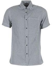 Jack & Jones - Johan Originals Men's Short Sleeved Shirt In Grey - Lyst