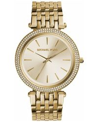 MICHAEL Michael Kors - Mk3191 Women's Analogue Watches In Gold - Lyst
