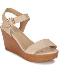 Betty London - Charlota Women's Sandals In Beige - Lyst