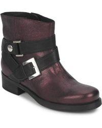 Janet & Janet - Ursus Van Women's Mid Boots In Red - Lyst