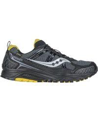 Saucony - Excursion Tr10 Gtx Men's Shoes (trainers) In Black - Lyst
