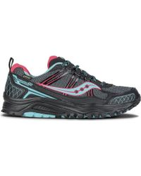Saucony - Excursion Tr10 Gtx Men's Shoes (trainers) In Pink - Lyst