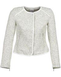 S.oliver - Bemidji Women's Jacket In White - Lyst