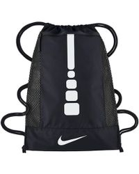 Nike - Hoops Elite Gym Sack Men's Sports Bag In Multicolour - Lyst