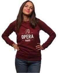 L'affaire De Rufus - Hoodie Opera Femme Women's Jumper In Red - Lyst