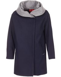 S.oliver - Demiza Women's Coat In Blue - Lyst