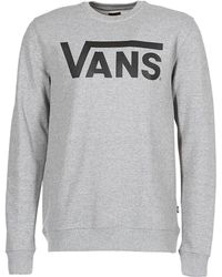 c2d4be86ae Vans Original Granby Sweatshirt In Navy Va2wfblkz in Blue for Men - Lyst