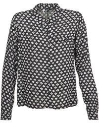 Volcom - Counting Stars Women's Long Sleeved Shirt In Black - Lyst