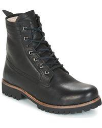 Blackstone - Il62 Women's Mid Boots In Black - Lyst