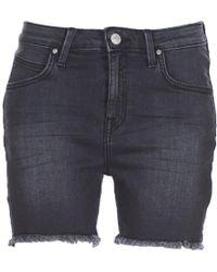 Lee Jeans | Boyfriend Short Women's Shorts In Black | Lyst