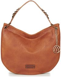 Moony Mood - Instaloni Women's Shoulder Bag In Brown - Lyst