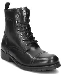 Pepe Jeans - Melting Men's Mid Boots In Black - Lyst