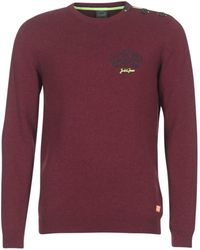Jack & Jones - Jortrast Men's Sweater In Red - Lyst