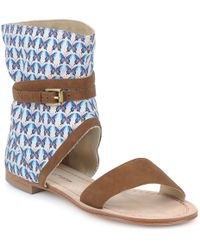 Paul & Joe - Armine Women's Sandals In Brown - Lyst