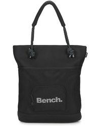 Bench - Meshneoprene Shopper Women's Shoulder Bag In Black - Lyst