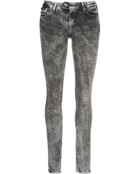Ddp - Debora Women's Skinny Jeans In Grey - Lyst