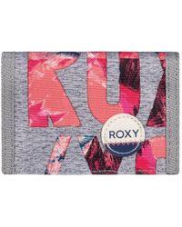 Roxy - Small Beach - Monedero Women's Purse In Grey - Lyst