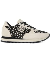 Armani - Trainer Warm Women's Shoes (trainers) In Multicolour - Lyst