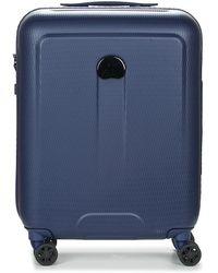 Delsey - Helium Air 2 Tr Cab 4r Sl 55 Women's Hard Suitcase In Blue - Lyst